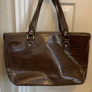 Woman's Croft & Barrow laptop bag